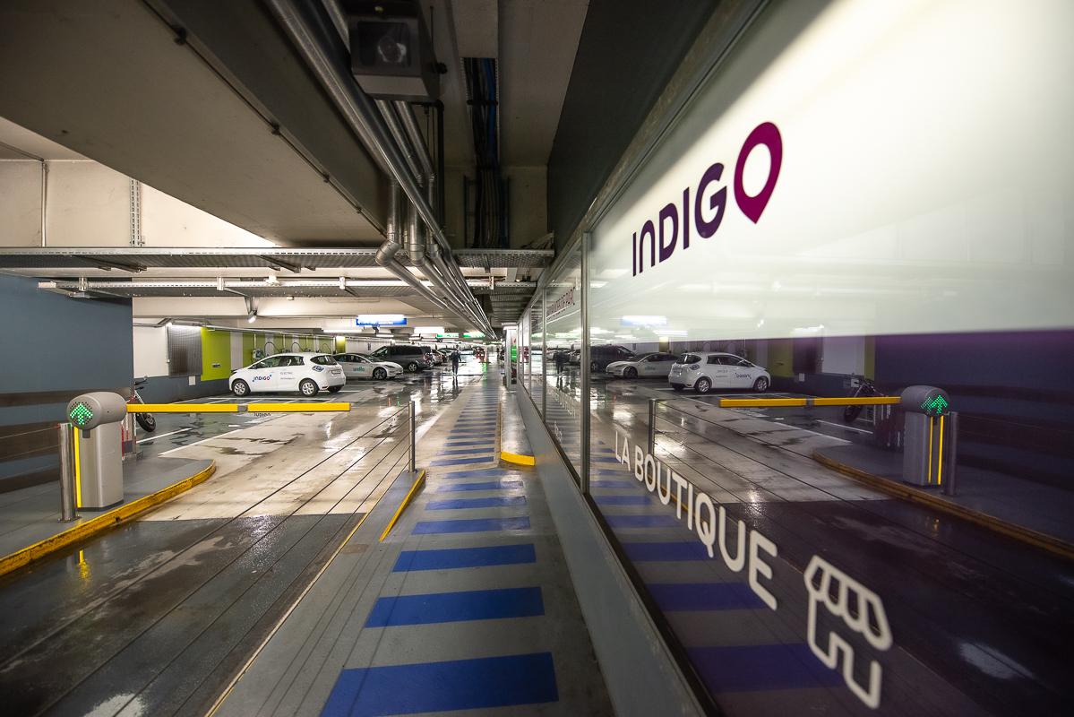 Parking du Centre Lausanne